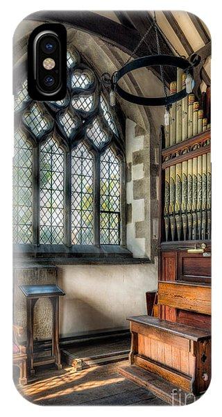 Chapel iPhone Case - Chapel Organ by Adrian Evans