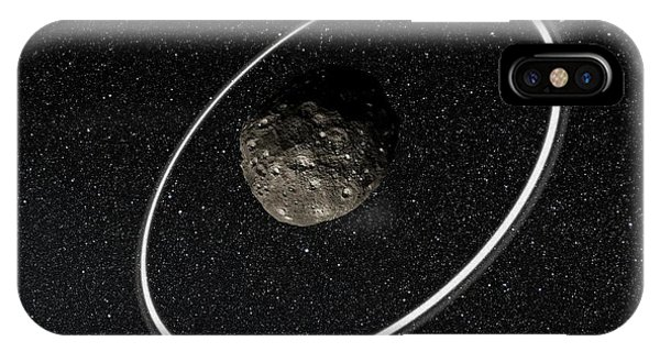 Centaur iPhone Case - Chariklo Minor Planet And Rings by European Southern Observatory