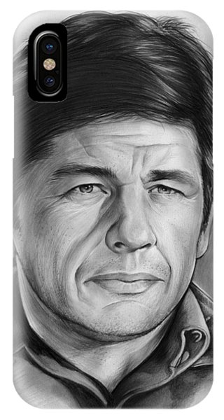 Charles iPhone Case - Charles Bronson by Greg Joens
