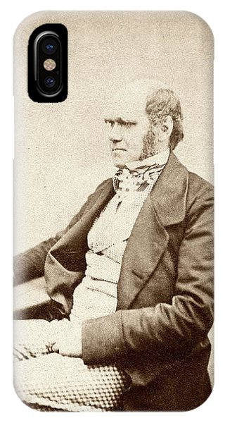 Controversial iPhone Case - Charles Darwin by American Philosophical Society