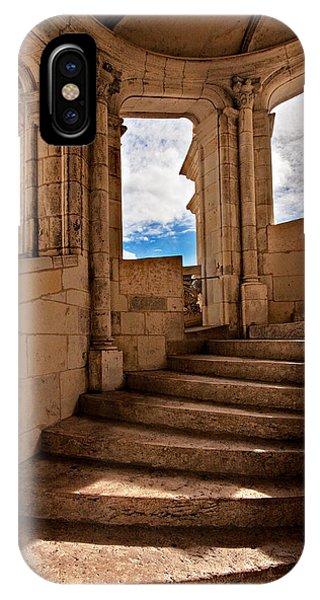 Chateau De Blois Staircase / Loire Valley IPhone Case