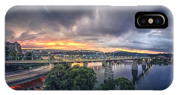 Chattanooga Sunset 4 IPhone Case