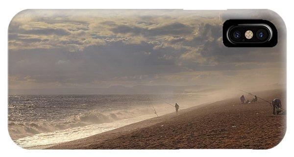 Dorset iPhone Case - Chesil Beach by Joana Kruse
