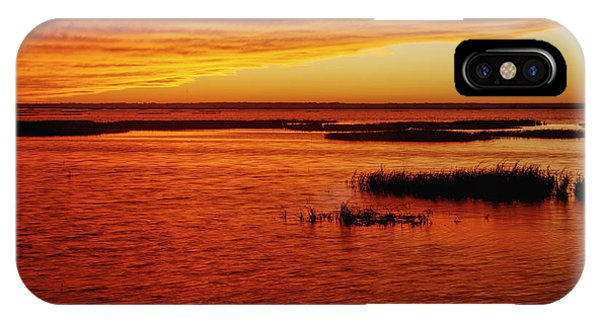 Cheyenne Bottoms Sunset IPhone Case