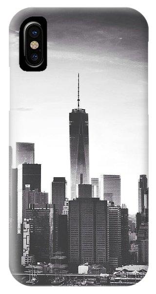 New York City iPhone Case - Chiaroscuro City by Natasha Marco