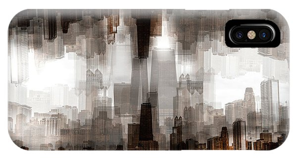 Double iPhone Case - Chicago Skyline by Carmine Chiriac??
