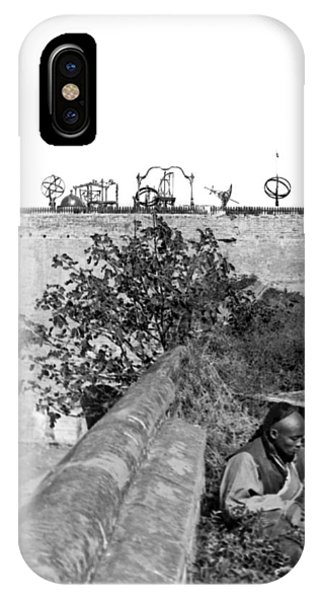 1895 iPhone Case - China's Imperial Observatory by Underwood Archives