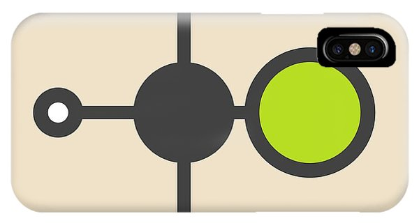 Flammable iPhone Case - Chloromethane Molecule by Molekuul