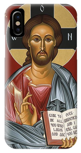 Christ All Merciful 022 IPhone Case