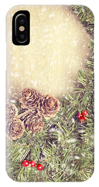 Christmas Garland IPhone Case