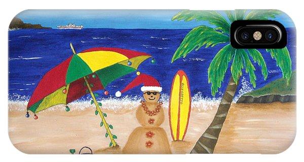 Christmas In Kona IPhone Case