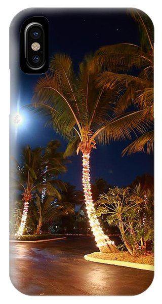Christmas Palms IPhone Case