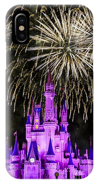 Magic Kingdom Cinderella Castle IPhone Case
