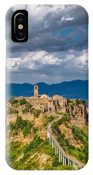 Civita Di Bagnoregio IPhone Case