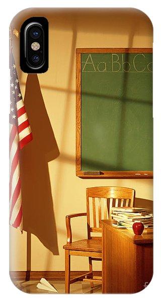 iPhone Case - Classroom by Tony Cordoza