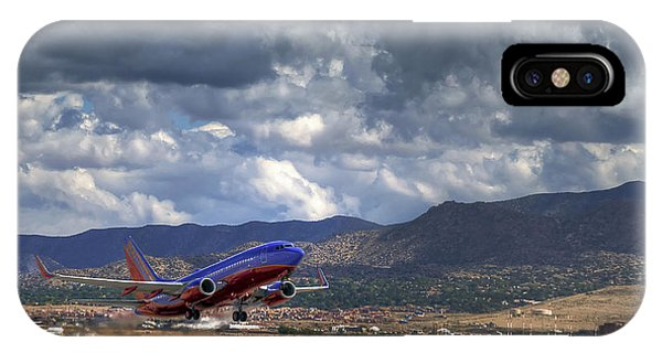 Cleared For Departure IPhone Case