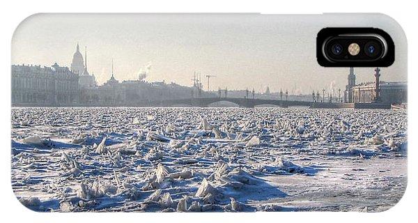 cold Peterburg IPhone Case