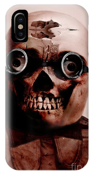 Ghastly iPhone Case - Colonel Chaos by Jorgo Photography - Wall Art Gallery