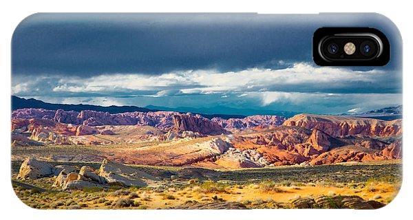 Color Storm No. 2 IPhone Case