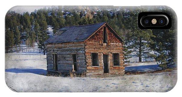 Colorado Log Cabin IPhone Case