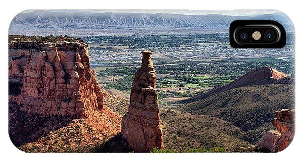 Colorado National Monument IPhone Case