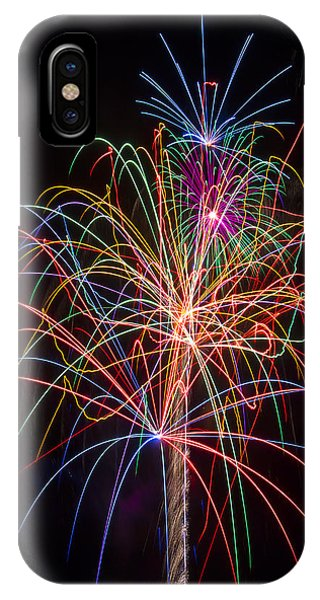 Colorful Fireworks IPhone Case