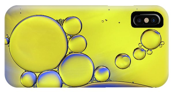 Water Droplets iPhone Case - Colors Of Ikea by Heidi Westum