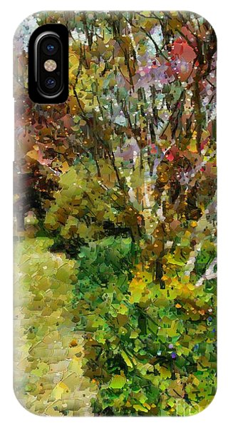 Colourful Garden IPhone Case