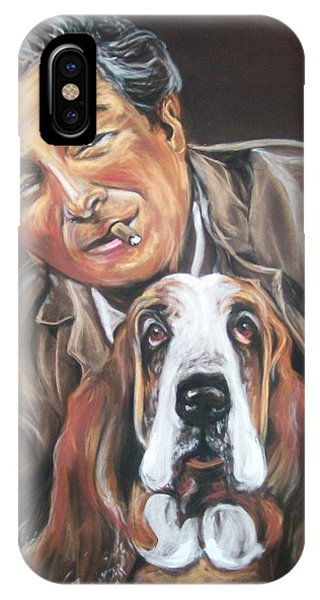 Columbo And Dog IPhone Case