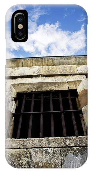 Dungeon iPhone Case - Convict Cell by Jorgo Photography - Wall Art Gallery