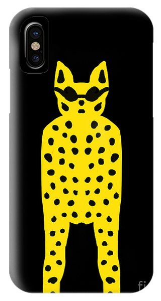Simply Cool For Cats  IPhone Case