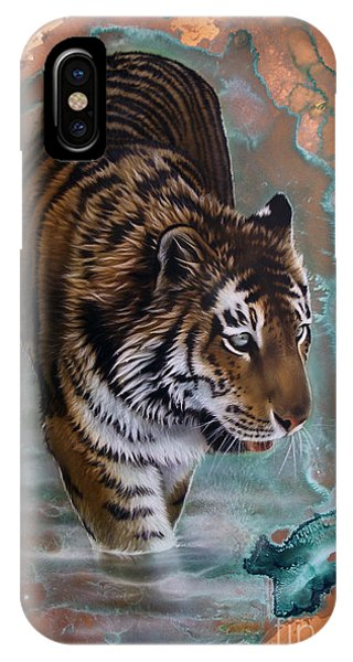 Copper Tiger I  IPhone Case