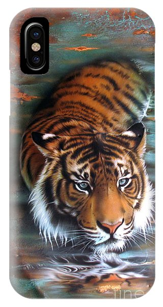 Copper Tiger II IPhone Case