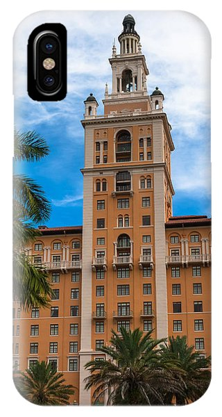 Coral Gables Biltmore Hotel IPhone Case