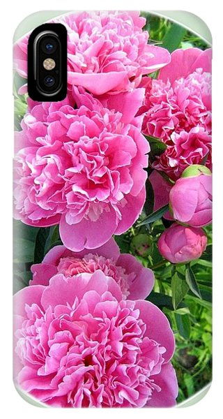 Country Peonies IPhone Case