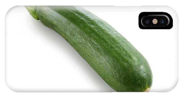 Courgette Phone Case by Science Photo Library