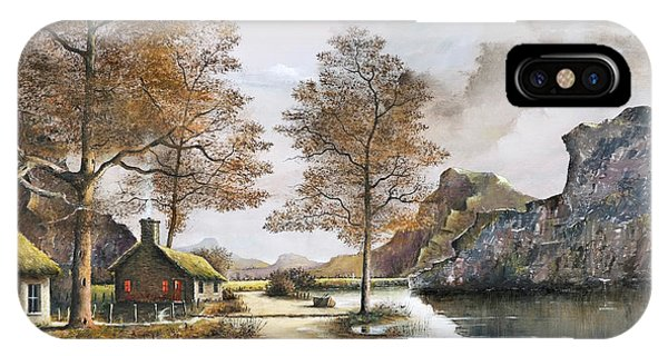 Crofters Cottages IPhone Case