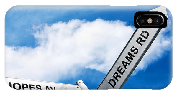 Crossroads Of Hopes And Dreams IPhone Case