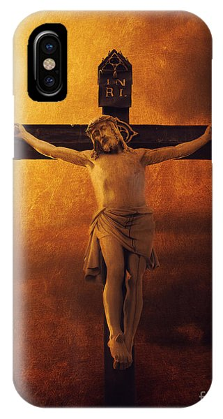 Crucifixcion IPhone Case