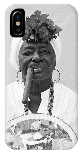 Cuban Lady IPhone Case