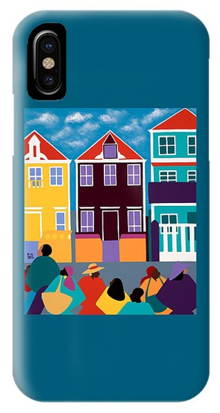 iPhone X Case - Curacao Dreams by Synthia SAINT JAMES
