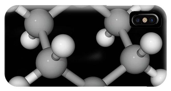 Cyclohexane Molecule Phone Case by Laguna Design/science Photo Library