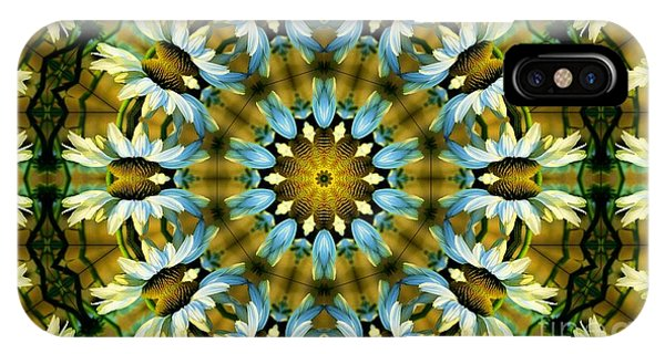 Kaleidoscope Daisy Mae IPhone Case