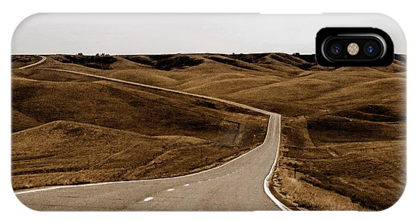 Dakota Highway 1804 IPhone Case