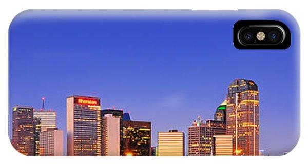 Dallas At Dawn IPhone Case