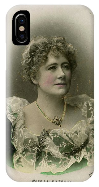 Dame Ellen Alice Terry (1847 - 1928) Phone Case by Mary Evans Picture Library