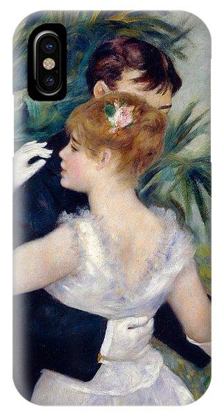 Dance iPhone Case - Dance In The City by Pierre-Auguste Renoir