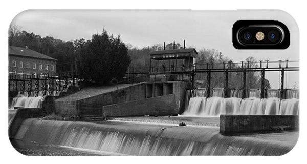 Daniel Pratt Cotton Mill Dam Prattville Alabama IPhone Case