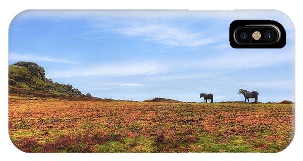 Upland iPhone Case - Dartmoor by Joana Kruse