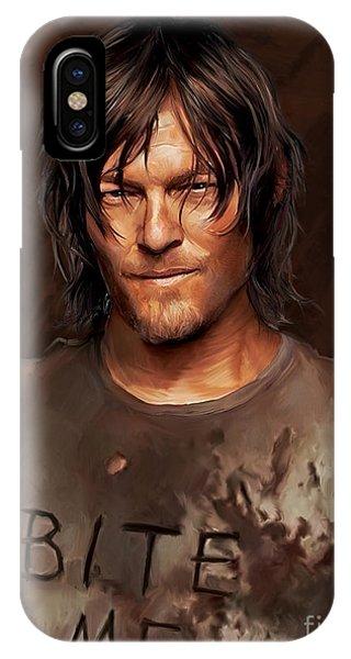Daryl - Bite Me IPhone Case